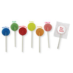 Single Colour Mini Lollies with flavours