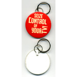 Button Keyring 57mm